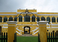 Walk in the footsteps of Alexander Hamilton in the historic town of Christiansted, St. Croix.